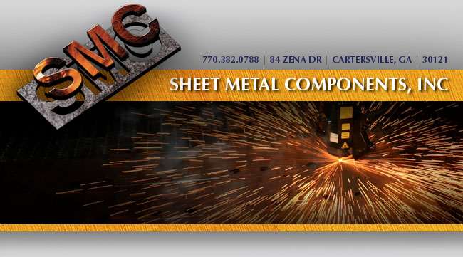 Sheet Metal Components, Inc. | 84 Zena Drive, Cartersville, Georgia 30121 | 770-382-0788